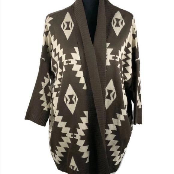 a6fcd5a2f9 BCBGMaxAzria Sweaters - BCBG MaxAzria Women Southwestern Cardigan Size S/M