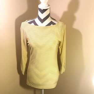 Limited Yellow striped top