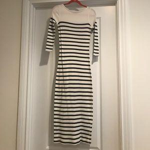 Polo Ralph Lauren striped long dress Small