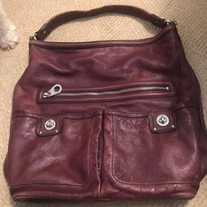 Purple Leather Marc by Marc Jacobs bag