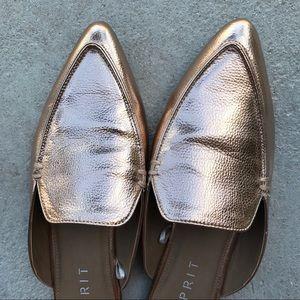 acb9120c40c1ad Shoes - Esprit Mia Rose Gold Mules