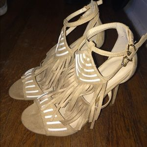 Nude Wild Diva Strappy Heeled!