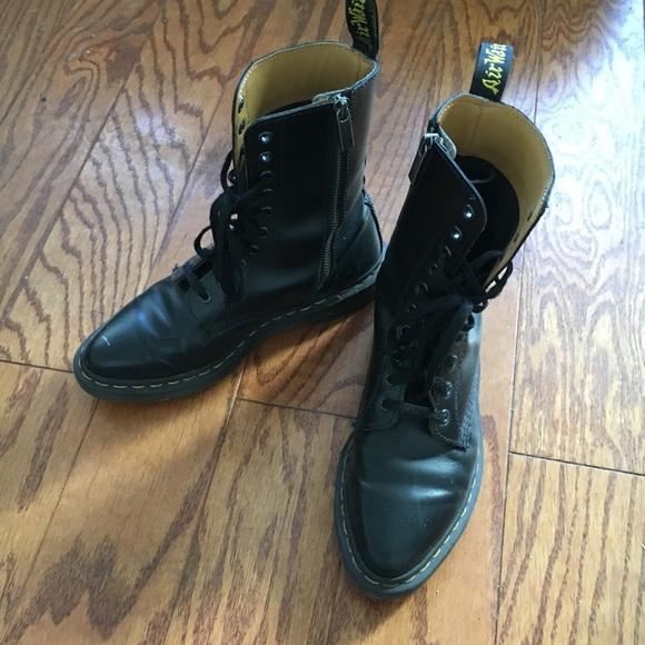 027047fc794d Dr. Martens Shoes - Dr. Martens Alix 10 eye zip boot