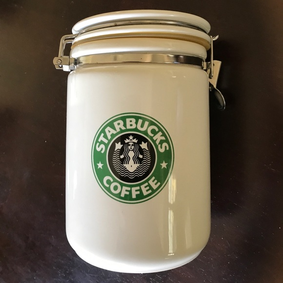 Starbucks Other Starbucks Coffee Ceramic Coffee Canister Poshmark