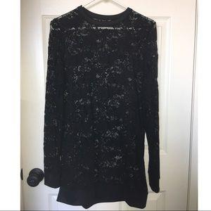 382b007067c Blackmilk Dresses - Black Milk Lace Sweater Dress