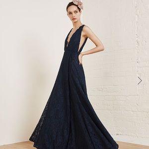 Reformation Francesca gown.
