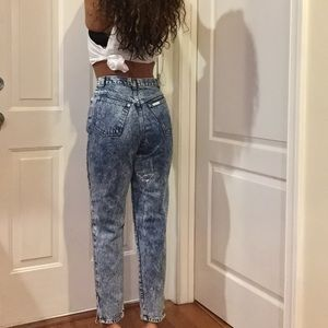 90s super High Waist Mom Jeans Great Fit! Size 1/2