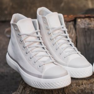 Arco iris Pensionista A tiempo  Converse Shoes | Adult Cement Cream Modern Future Canvas | Poshmark