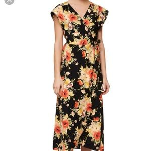 Sanctuary Floral Wrap Dress