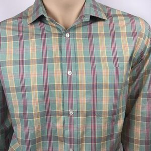 Men's dress shirt size Large
