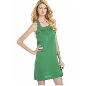 NWT Theory Green Racerback Tank Dress Size 8