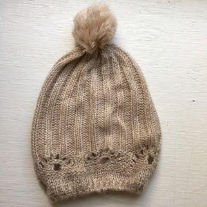 Accessories - Knit Pom Pom Sweater Cap