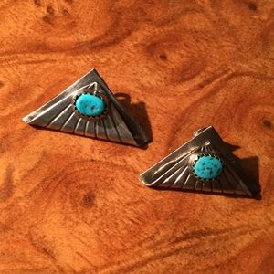 Jewelry - SALE Arizona Turquiose Sterling Silver Earrings