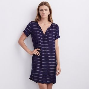 Velvet brand Ettie Soft Twill striped dress