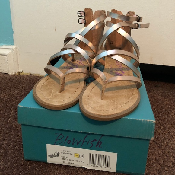 3e218c657f99 Blowfish Shoes - Rose gold sandals