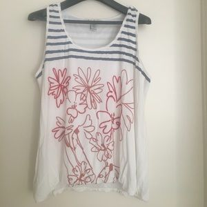 American Rag shelled tank top 3x