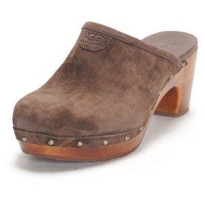 Brown UGG Clogs