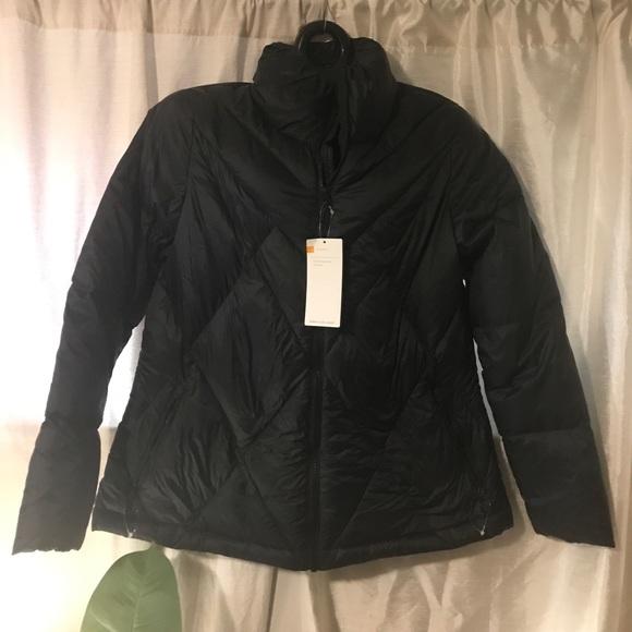 6f7b366d00f2 Champion Down filled navy blue jacket XL