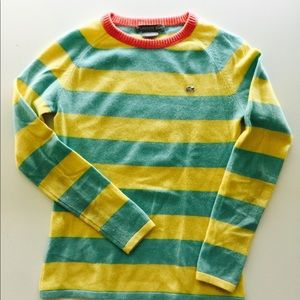 Lacoste 100% cashmere sweater