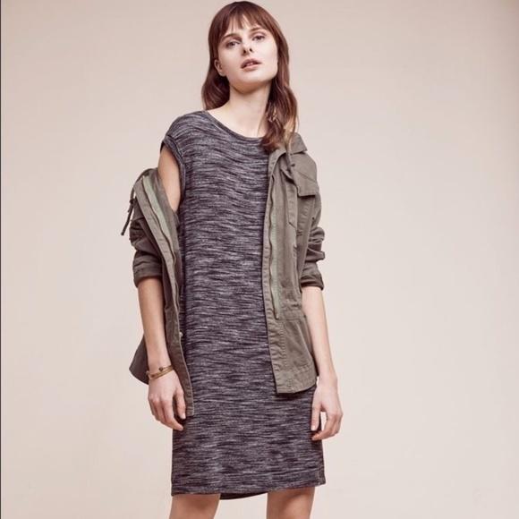 Anthropologie Dresses & Skirts - NEW Anthro Cloth & Stone striped melange tee dress