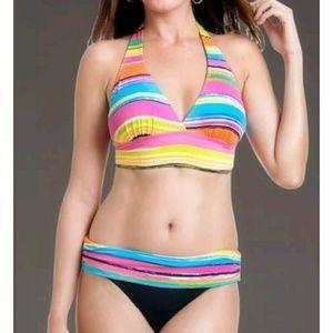 Anne Cole Painterly Bikini Swimsuit NWT