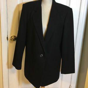 Black Wool blazer- size 12