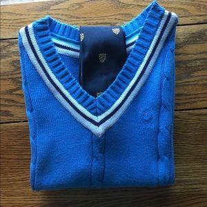 Preppy sweater vest