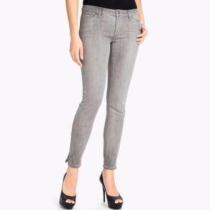 "MICHEAL KORS Skinny Ankle Zip Jeans (Inseam 30.5"")"