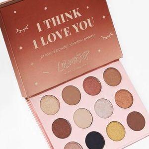 """🆕Colourpop 12 Shadow Palette/""""I Think I Love You"""""""