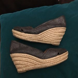 Tory Burch open toes shoes espadrilles