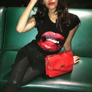 J CREW Red shoulder bag