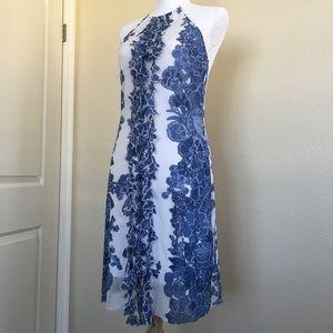 Vivienne Tam Vintage Hawaiian Halter Dress