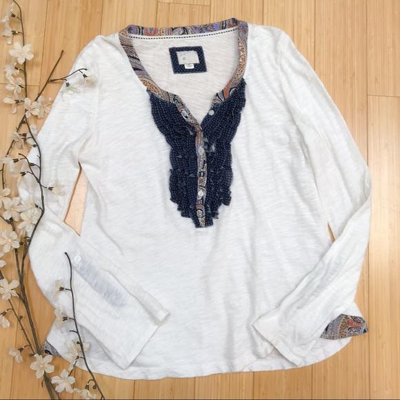 86b1b207 Anthropologie Tops - Anthropologie POSTMARK soft long sleeve shirt, S.