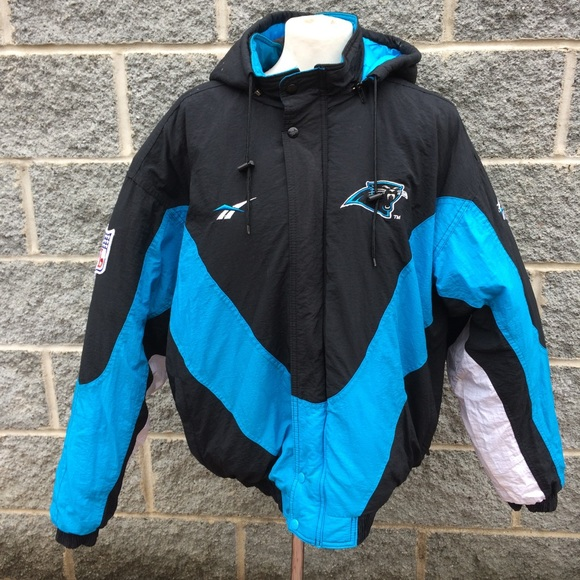 Nice Reebok Jackets & Coats | Vintage Carolina Panthers Pro Line Coat L  for cheap