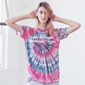Jac Vanek Sorry If I Look Interested Tee