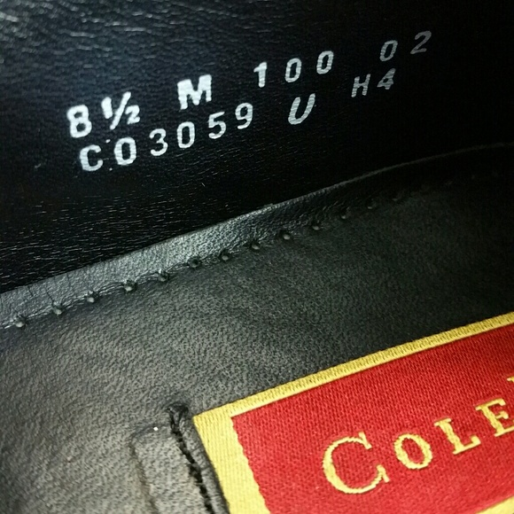Cole Haan Shoes - COLE HAAN MEN'S LEATHER SHOES