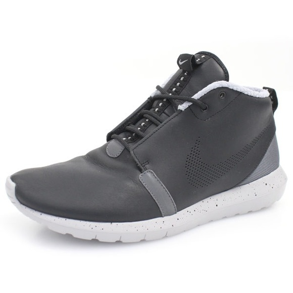 separation shoes 99f83 6ad99 FINAL SALE Nike Roshe Run Grey High Top Sneakers. M 59e1521a981829e987011716