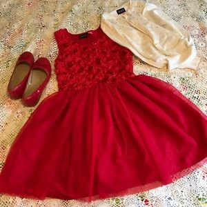 Children's Place - L Red Party/Holiday dress
