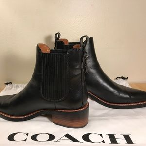 Clothing, Shoes & Accessories Coach Womens Bowery Chelsea Bootie Women's Shoes