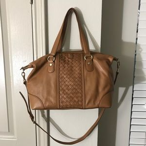 Cole Haan Brown Leather Satchel