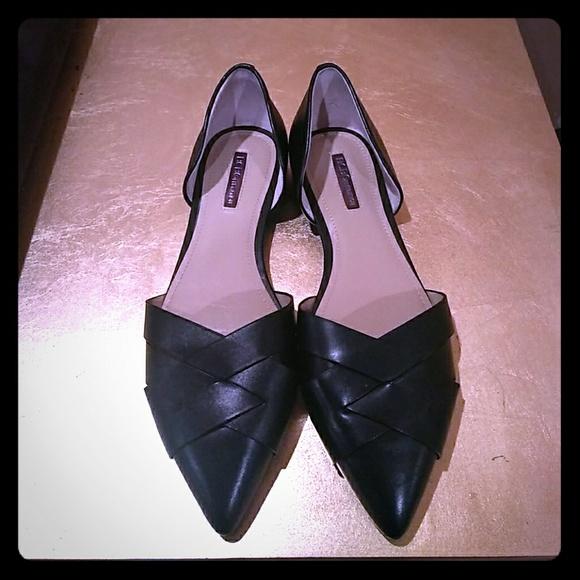 a8dfdb0571a3 BCBGeneration Shoes   Bcbg Pointy Toe Black Flats   Poshmark