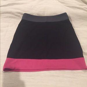 NWOT BCBG Colorblock skirt