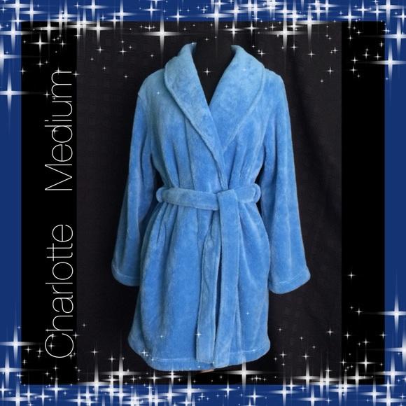4c015a654d Charlotte Other - Charlotte   Size Medium   Comfy Soft Blue Robe