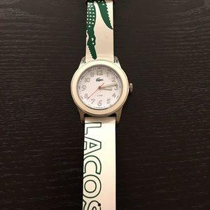 LACOSTE Leather Women's Watch - Worn once!