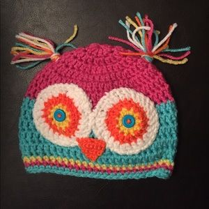 Other - Crocheted owl boggin