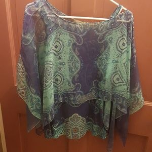Tops - Poncho style top