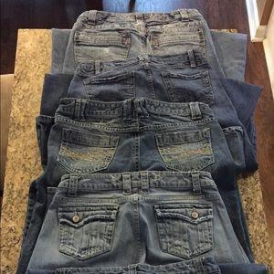 Bundle of 12 pairs of Aeropostale Jeans