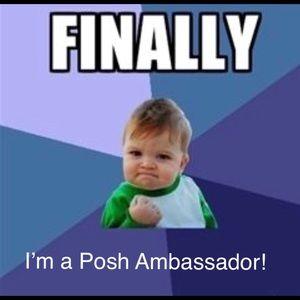 Other - I'm a Poshmark Ambassador 10/12/17 !