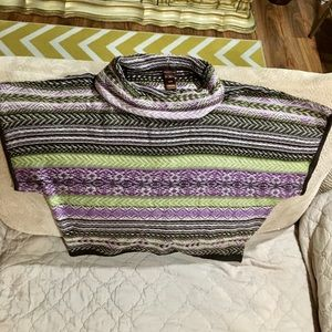 Multiples New Multi Color Sweater XL
