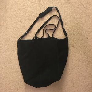 Urban Outfitters BDG Navy Genuine Suede Tote